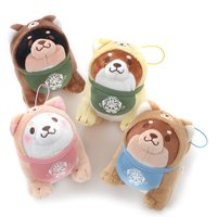 Chuken Mochi Shiba Otomodachi Narikiri Mini Plush Collection