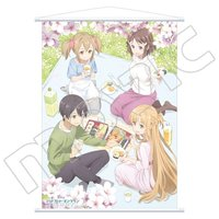 Sword Art Online the Movie: Ordinal Scale Flower Viewing Big Tapestry