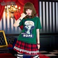 LISTEN FLAVOR Ultimate Lucky Student Makoto Naegi T-Shirt