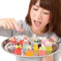 Zeitaku Sweets Crystal Jelly Keychain Mascots