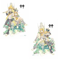 Kagamine Rin/Len 10th Anniversary Blanket