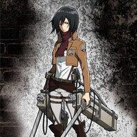 Attack on Titan - Mikasa Wall Scroll
