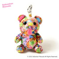Sebastian.M Time After Time Capsule Bear Mascot Keychain