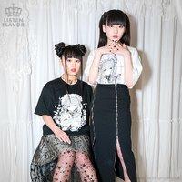 LISTEN FLAVOR x Fusedyyy Lolita Teatime Collab T-Shirt