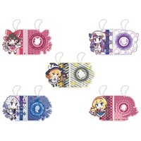 Touhou Project Ruler Keychains