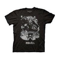 Attack on Titan Season 2 Reiner Braun Titan Form Adult T-Shirt