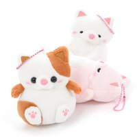 Mocchiri Neko no Kinako Ball Chain Plush Collection