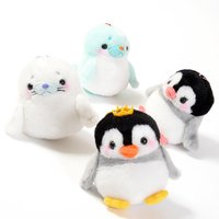 Shiro to Penguin Ouji Plush Collection (Ball Chain)