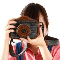 Accommode Tweed Camera Cases