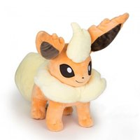 "Pokemon 10"" I Love Eevee Flareon Plushie"