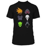 Overwatch Versus Spray Premium Black T-Shirt