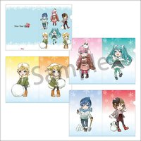 Hatsune Miku New Year Party 2018 Winter Ver. A4-Size Clear File Set