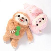 Namakemono no Mikke Mattari Hi Sloth Plush Collection (Big)