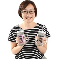 Doraemon Sippers Glass
