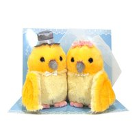 Bridal Set Little Yellow Bird Plush Collection