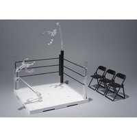 Tamashii Stage Act Ring Corner (Neutral Corner) & Folding Chair Set