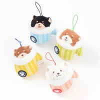 Chuken Mochi Shiba Hoka Hoka Plush Collection (Palm-Size)