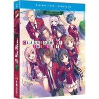 Classroom of the Elite: The Complete Series Blu-ray/DVD Combo Pack