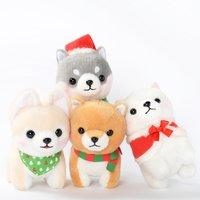 Mameshiba San Kyodai Christmas Dog Plush Collection (Standard)