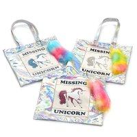 FLAPPER Missing Unicorn Tote Bag