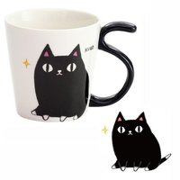 Three Cat Siblings Tail Mug