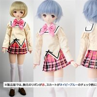 Libidoll Check Skirt JC School Uniform