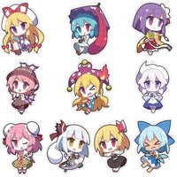 Touhou Project Acrylic Keychain Collection: Yurutto Touhou