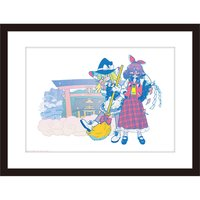Touhou Project Mistgraph Art Canvas Board