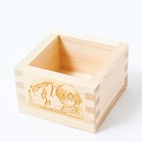 Japanese Traditional Wooden Square Cup (Ninja)