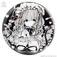 LISTEN FLAVOR x Fusedyyy Lolita Teatime Collab Pin Badge
