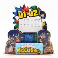 My Hero Academia 2017 Desktop Diorama Calendar