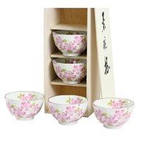 Hana Misato Mino Ware Rice Bowl Set