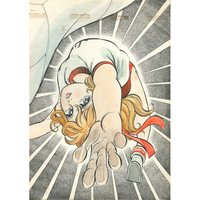 Akira Mochizuki Sign wa V! Original Framed Reproduction Art Print No. 4