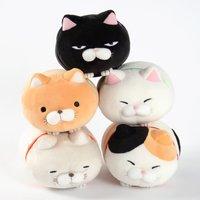 Tsumeru! Mochikko Hige Manjyu Cat Plush Collection (Mascot)