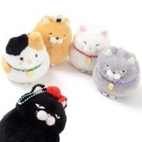 Hige Manjyu Wa Cat Plush Collection (Ball Chain)