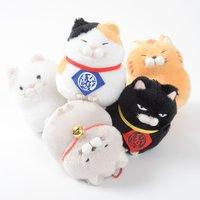 Hige Manjyu Maekake Cat Plush Collection (Ball Chain)