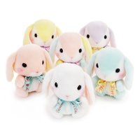 Pote Usa Loppy Pastel Rabbit Plush Collection (Standard)