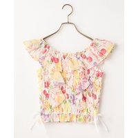 LIZ LISA Fruity Off-Shoulder Top