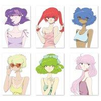 Shiritsu Yami Pastel Gakuen x PARK Postcards