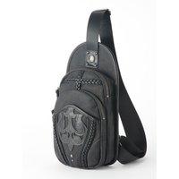 Ozz Croce Embossed Crossbody Bag