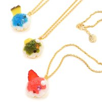 Q-pot. Parlor Shaved Ice Necklaces