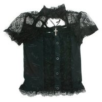 ACDC RAG Lace Top