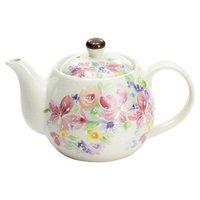 Hana Miyabi Mino Ware Flower Teapot