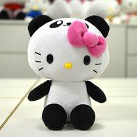 "Hello Kitty 8 Plush: Panda"""