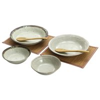 Forest Mino Ware Curry Bowl Set