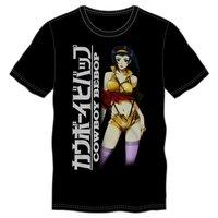 Cowboy Bebop Logo/Faye Men's T-Shirt