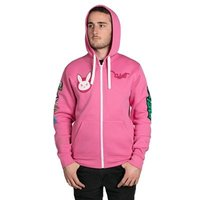 Overwatch Ultimate D.Va Zip-Up Hoodie