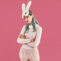 YUMMY MART My Bunny Dusty Pink Bodysuit Set