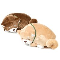 Chuken Mochi Shiba Curled Up Napping Big Plush Collection