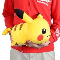 """Pokémon 10"""" Pikachu Lying Down Plush"""
